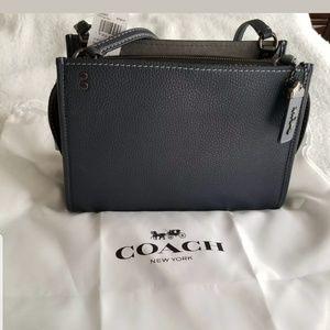 NWT's Coach 1941 Rogue Shoulder Bag Glovetan Peb
